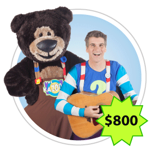 Professor Silly and Big Bear Brown Show